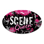 Scene Queen Magnet (Oval)