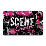 Scene Queen Magnet (Rectangular)