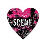 Scene Queen Magnet (Heart)