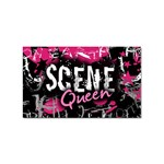 Scene Queen Sticker Rectangular (100 pack)