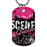 Scene Queen Dog Tag (Two Sides)