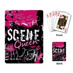 Scene Queen Playing Cards Single Design