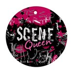 Scene Queen Round Ornament (Two Sides)
