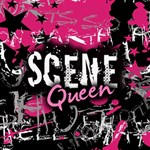 Scene Queen Canvas 16  x 16