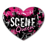 Scene Queen Mousepad (Heart)
