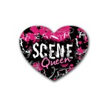 Scene Queen Heart Coaster (4 pack)