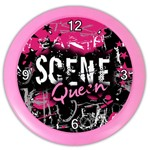 Scene Queen Color Wall Clock