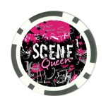 Scene Queen Poker Chip Card Guard