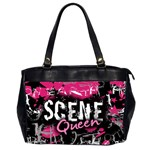 Scene Queen Oversize Office Handbag (Two Sides)