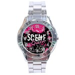 Scene Queen Stainless Steel Analogue Men's Watch