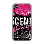 Scene Queen Apple iPhone 4 Case (Clear)