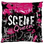 Scene Queen Large Cushion Case (One Side)
