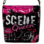 Scene Queen Flap closure messenger bag (Small)