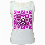 Skull Princess Women s Tank Top