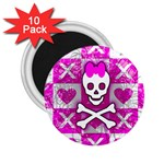 Skull Princess 2.25  Magnet (10 pack)