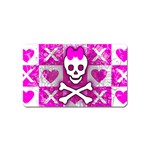Skull Princess Magnet (Name Card)