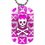 Skull Princess Dog Tag (One Side)
