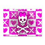 Skull Princess Sticker A4 (100 pack)