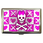 Skull Princess Cigarette Money Case