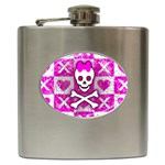 Skull Princess Hip Flask (6 oz)