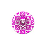 Skull Princess Golf Ball Marker (4 pack)