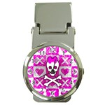 Skull Princess Money Clip Watch