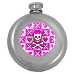 Skull Princess Hip Flask (5 oz)