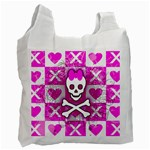 Skull Princess Recycle Bag (One Side)