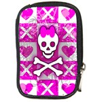 Skull Princess Compact Camera Leather Case