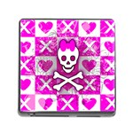 Skull Princess Memory Card Reader with Storage (Square)