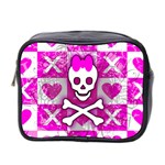 Skull Princess Mini Toiletries Bag (Two Sides)