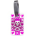 Skull Princess Luggage Tag (one side)