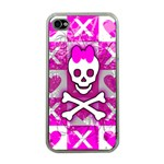 Skull Princess Apple iPhone 4 Case (Clear)