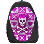 Skull Princess Backpack Bag
