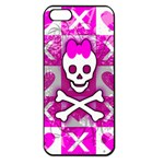 Skull Princess Apple iPhone 5 Seamless Case (Black)