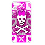 Skull Princess Apple iPhone 5 Seamless Case (White)