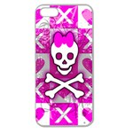 Skull Princess Apple Seamless iPhone 5 Case (Clear)