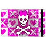 Skull Princess Apple iPad 2 Flip Case