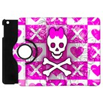 Skull Princess Apple iPad Mini Flip 360 Case
