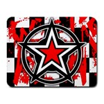 Star Checkerboard Splatter Small Mousepad