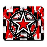 Star Checkerboard Splatter Large Mousepad