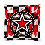 Star Checkerboard Splatter Cushion Case (One Side)