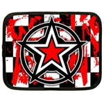 Star Checkerboard Splatter Netbook Case (XL)