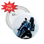 Vehicles Motorcycle Racer 2.25  Button (100 pack)