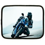 Vehicles Motorcycle Racer Netbook Case (XL)