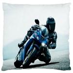 Vehicles Motorcycle Racer Large Cushion Case (One Side)