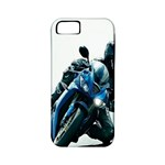 Vehicles Motorcycle Racer Apple iPhone 5 Classic Hardshell Case (PC+Silicone)