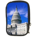 Usa White House Compact Camera Leather Case