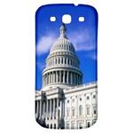 Usa White House Samsung Galaxy S3 S III Classic Hardshell Back Case