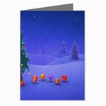 Walking Christmas Tree In Holiday Greeting Cards (Pkg of 8)